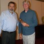 Bill Irvine and prize