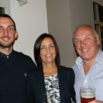Luke, Patricia and Dave Johns