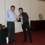 Paul Dodds accepting his prize - Copy