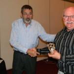 Trevor Allen accepts a prize - Copy